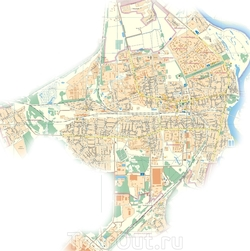 Карта Жлобина с улицами
