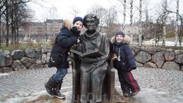 Самая детская часть путешествия. Музей Астрид Лингрен - Юнибакен. Посещение с детьми обязательно.