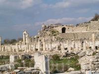 в античные времена в Сиде было 2 агоры (площади).