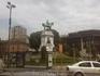 Скульптура Джузеппе Гарибальди в парке Семпионе.