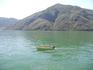 озеро Лугано почти зеленного цвета