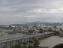 вид на реку Кай и рыбацкий район города