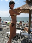 пляж Сочи. Черное море.