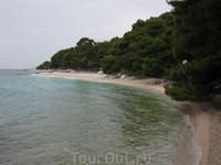 Средняя Далмация это пляжи под соснами