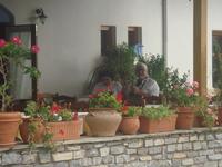 Греки деревни Литохоро у подножия г.Олимп