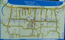 Карта Патонга на русском