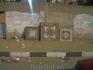 в Каире, выставка плитки у магазина