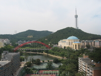 Китай, Далянь. Вид из номера на 16 этаже