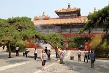 Кстати именно в этом храме находится самая высокая 17 метровая статуя будды - Майтрейи (Будды Грядущего), сделанная из сандалового дерева. Она действительно впечатляет.