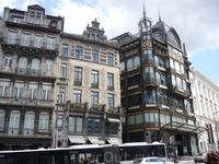 Брюссель. Эти  дома стоят на   Горе  Искусств.