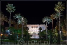 ночная Ницца,музей Массена