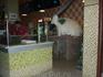 """Кафе """"Обжора"""" на ул.Кирова по второй линии от моря кажется. Нас привлек тандыр, его видно с улицы.Здесь есть бесплатный WF."""
