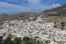 белый город Линдос