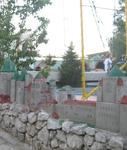 Крепость детская в парке развлечений 1.