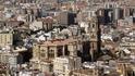 Malaga, вид на город- Catedral
