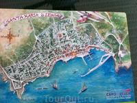 Карта пляжей Саленто