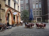 Кафешка на улице.