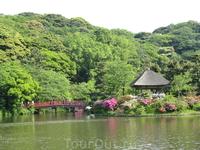 Парк был открыт  в 1906 году на деньги местного предпринимателя.