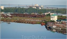 слип Городецкого судоремонтного завода
