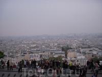 Вид с самой высокой точки Парижа