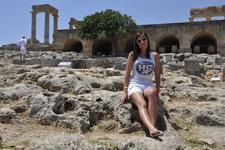 Руины акрополя