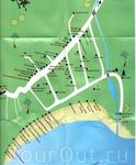 карта пляжа