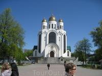 Собор на центральной площади