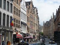 Брюссель.Улицы  города.