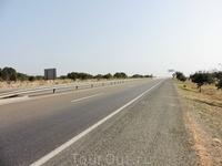 Кстати да, вот такие дороги в Марокко