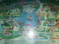 План-карта Дисковерилэнда ( что то подобное Дисней Лэнду) :)