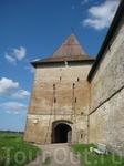 Крепость Орешек. Вход, который очень хорошо сохранился или отреставрирован...