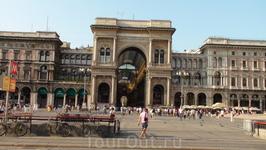 Милан. Галерея Витторио Эммануила II