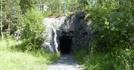 Финские укрепления в горах вокруг города. Построены в 1943-44 годах для обороны от советских войск, но воспользоваться ими  не пришлось....город взяли ...