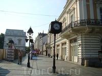 улицы Белграда.иестный арбат