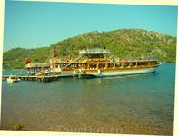 """экскурсия """"по Эгейским островам""""...начинается в 70 км от Мармариса...в том месте, где уже действительно Эгейское море"""