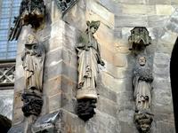 Скульптуры эрфуртского собора.