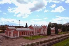 Железнодорожный вокзал в Великих Луках