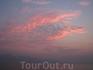 Закат над Ко Чангом. Вид с парома.