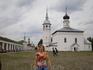 """Торговая площадь.Воскресенская церковь. Здесь снималась финальная сцена фильма """"Женитьба Бальзаминова"""""""
