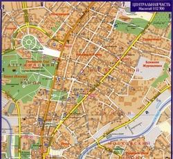 Карта Харькова