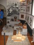 В музее. Стенд об истории монастыря