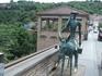"""В Сигнаги. Памятник доктору из кинофильма """"Не горюй!"""""""