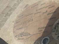 Ну и напоследок. Старинная карта мира. Израиль - центр Мира. )