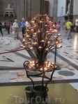 так ставят свечи в церкви во Флоренции