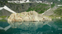 Каменный остров на озере
