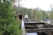 Остов старой финской ГЭС