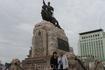 Памятник Сухе-Батору