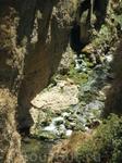 Река в ущелье Тахо.
