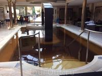 Повторюсь, лечебная вода на курорте Хайдусобосло - прекрасного темно-золотого цвета.