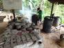 В деревеньке занимаются производством вина из риса.